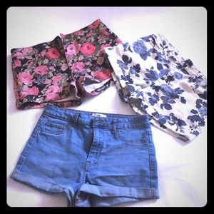 Lot of Forever 21 shorts -3pcs size 27